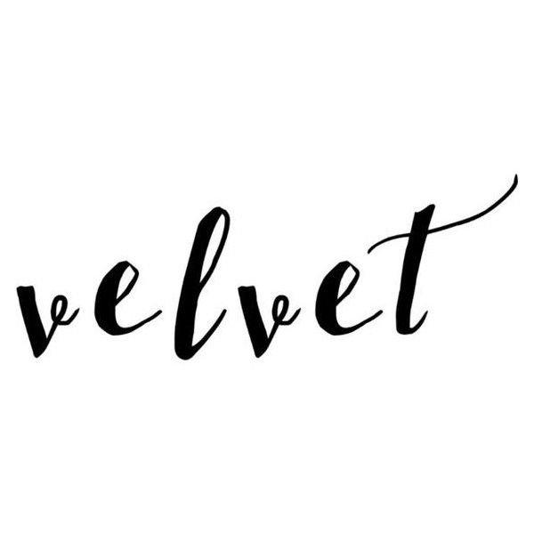 velvet words - Google Search