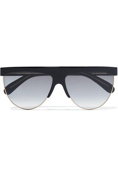 Givenchy | D-frame acetate and gold-tone sunglasses | NET-A-PORTER.COM