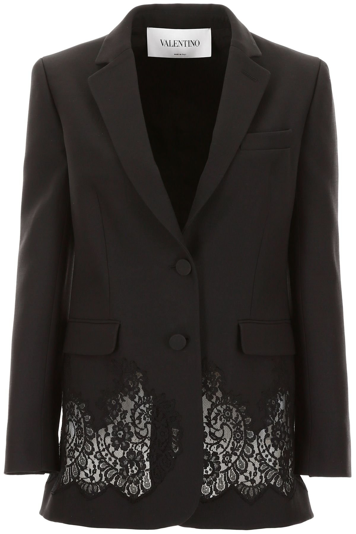 Valentino Jacket With Lace