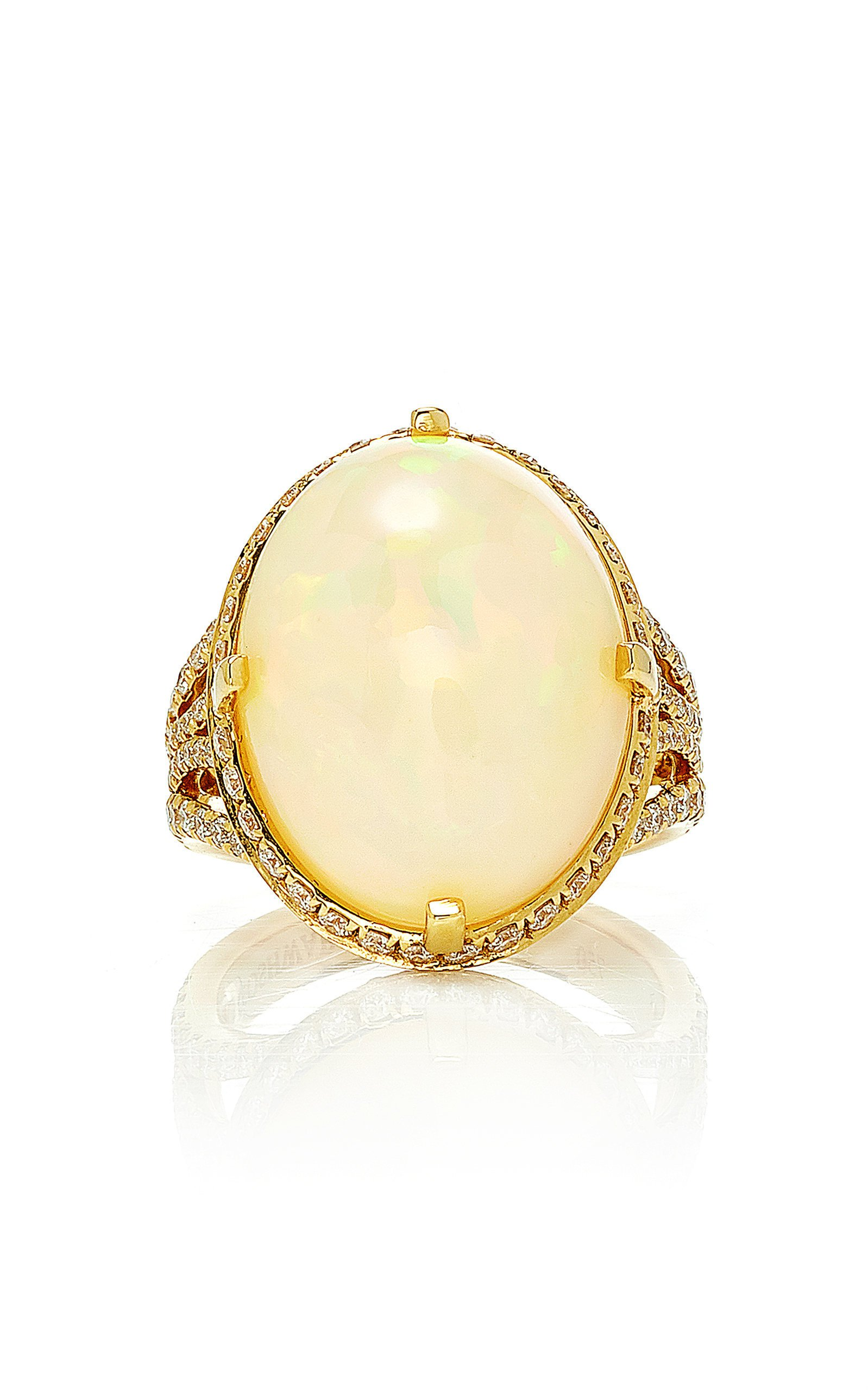 Goshwara G-One' Opal Oval Ring