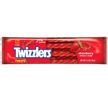 Strawberry Twizzlers - Rock Pop Candy