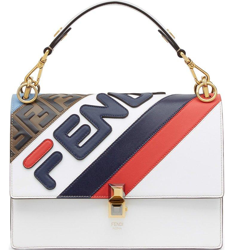 Fendi x FILA Kan I Mania Logo Shoulder Bag   Nordstrom