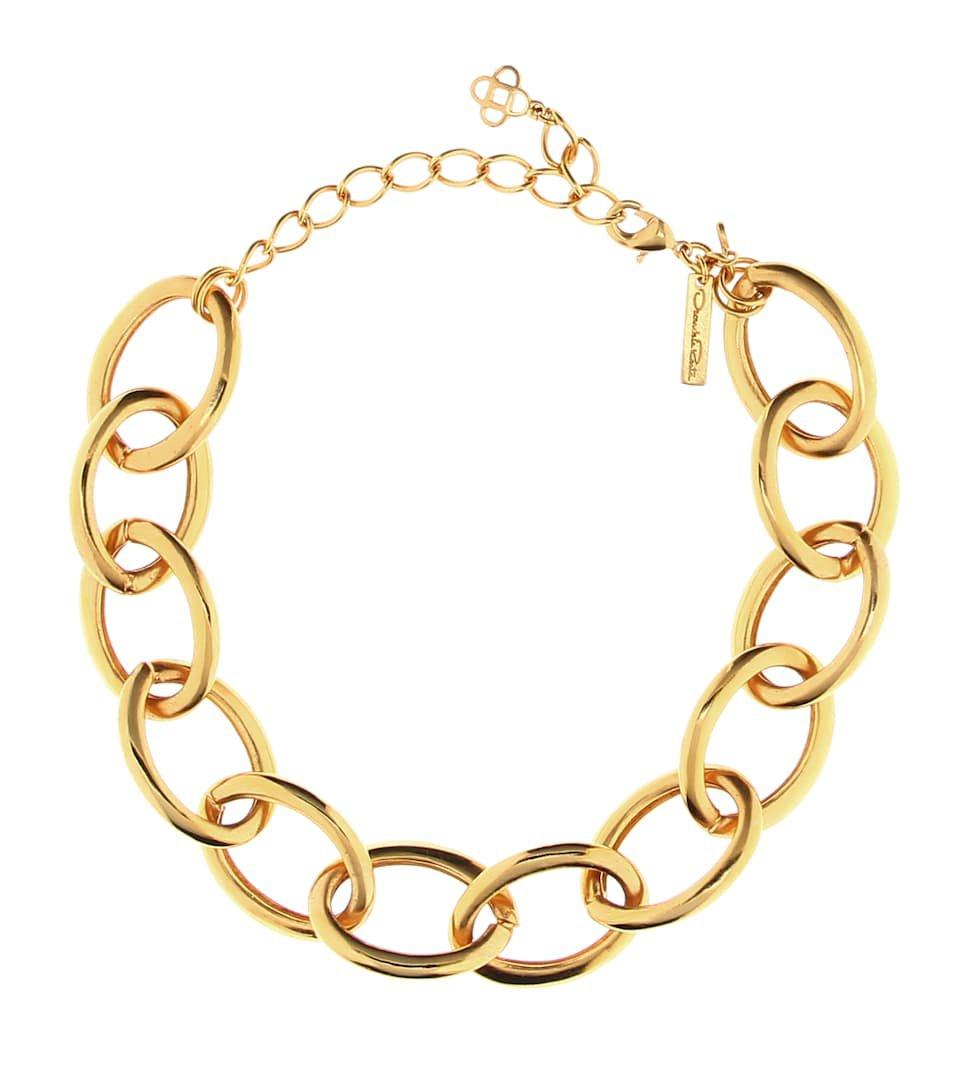 Chainlink Necklace - Oscar de la Renta | Mytheresa