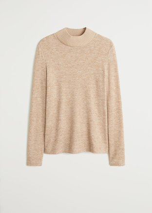 Ribbed knit sweater - Women | Mango USA