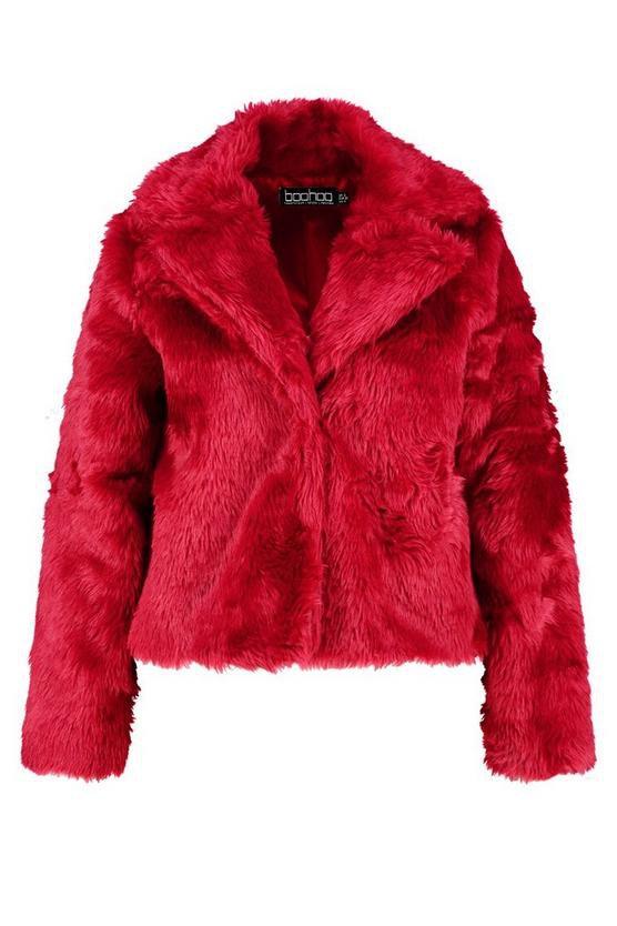 Plus Faux Fur Coat | Boohoo