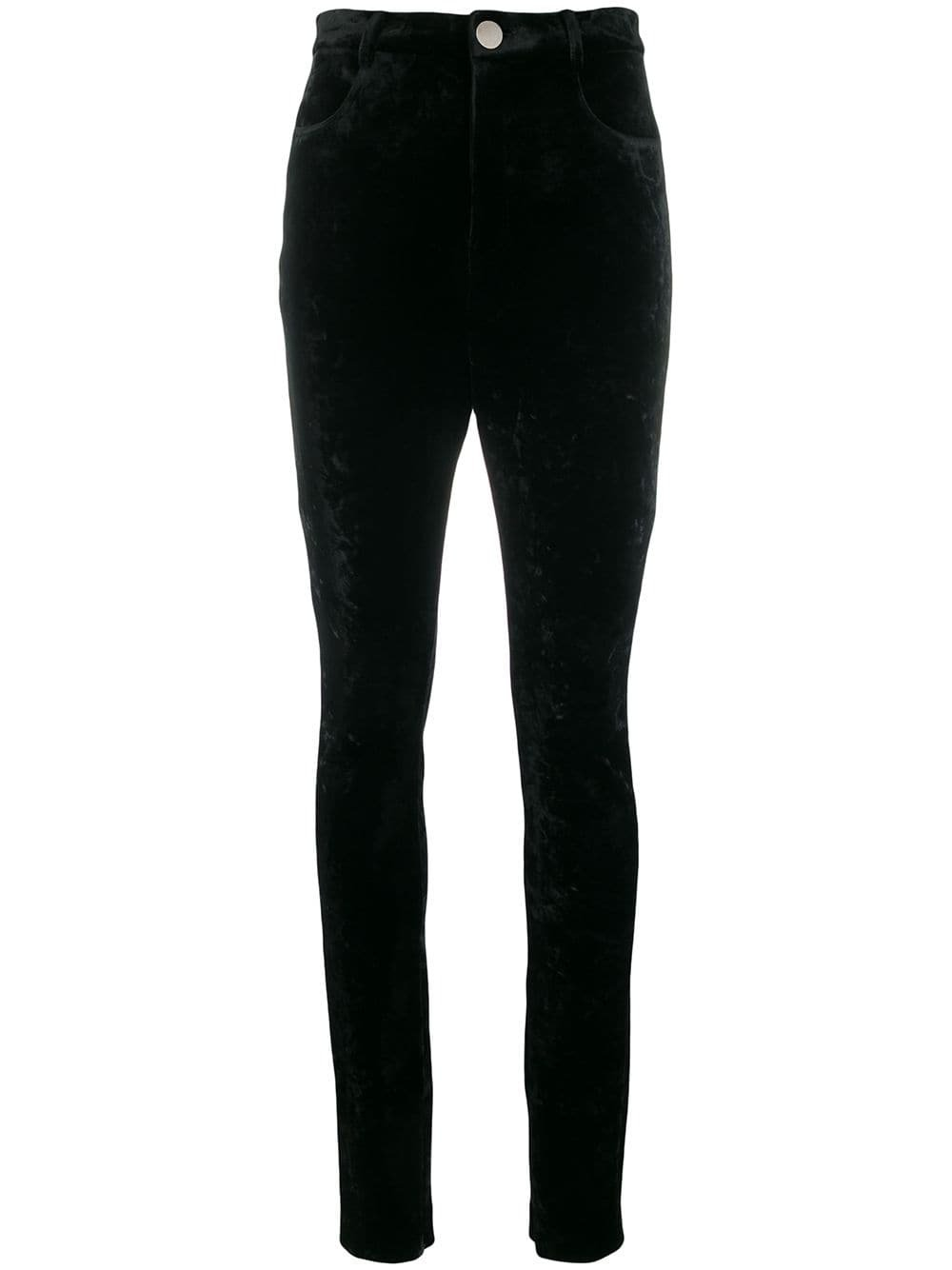 Attico high-waist Fitted Trousers - Farfetch