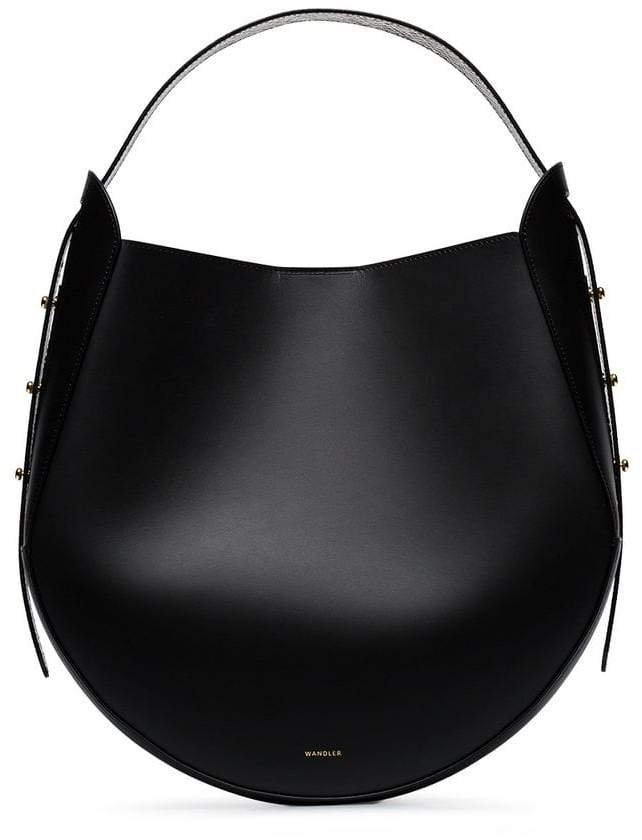 Wandler black Corsa leather tote bag