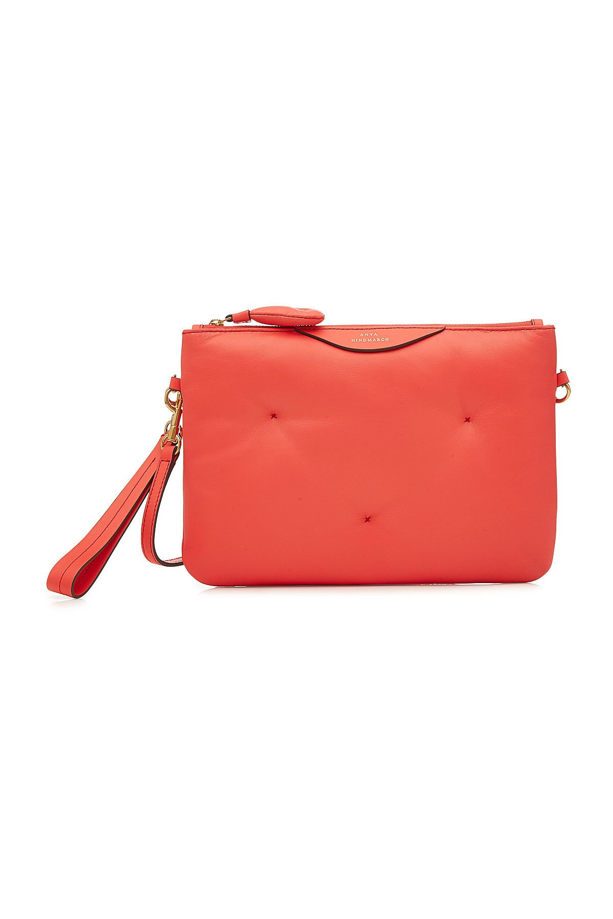 Chubby Crossbody Leather Shoulder Bag Gr. One Size