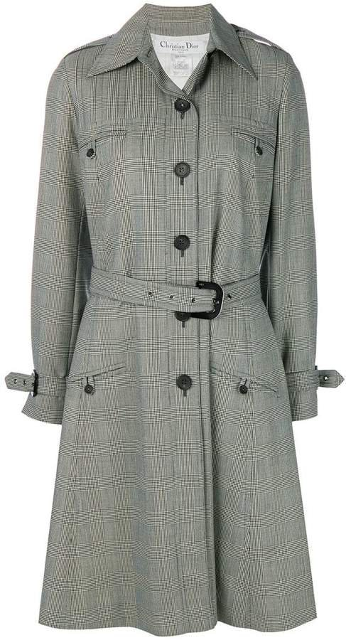 Pre-Owned prince of wales coat