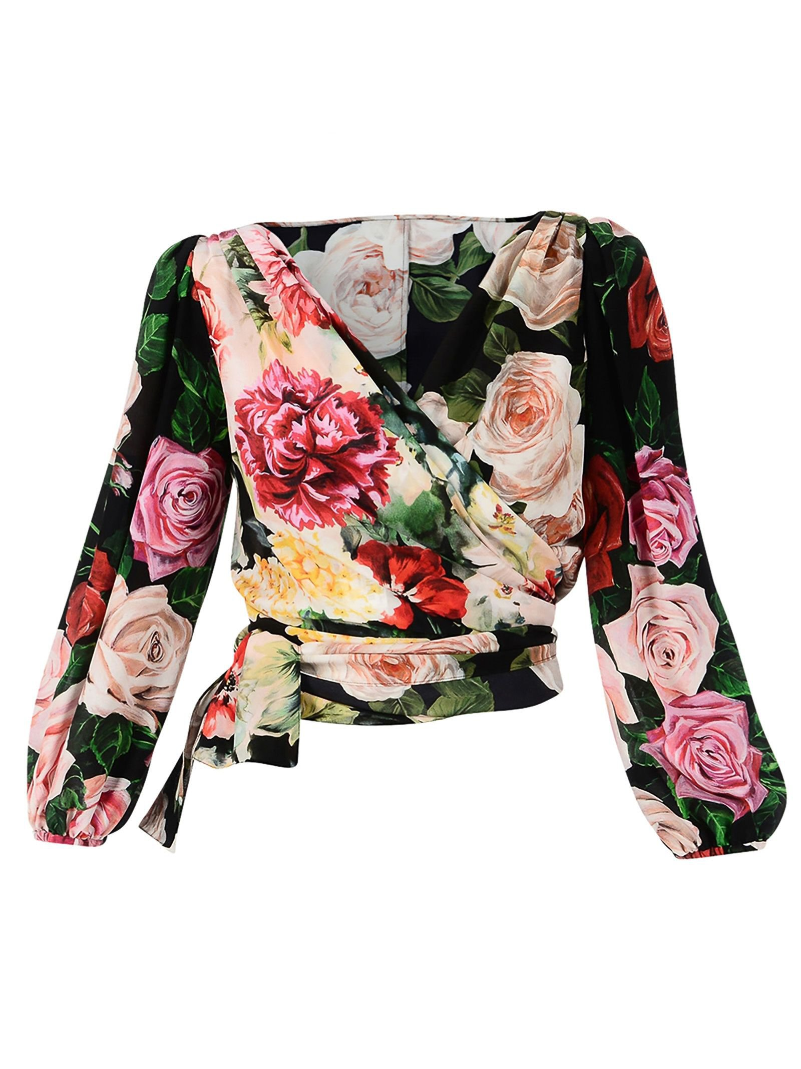 Dolce & Gabbana Wallet Blouse With Print