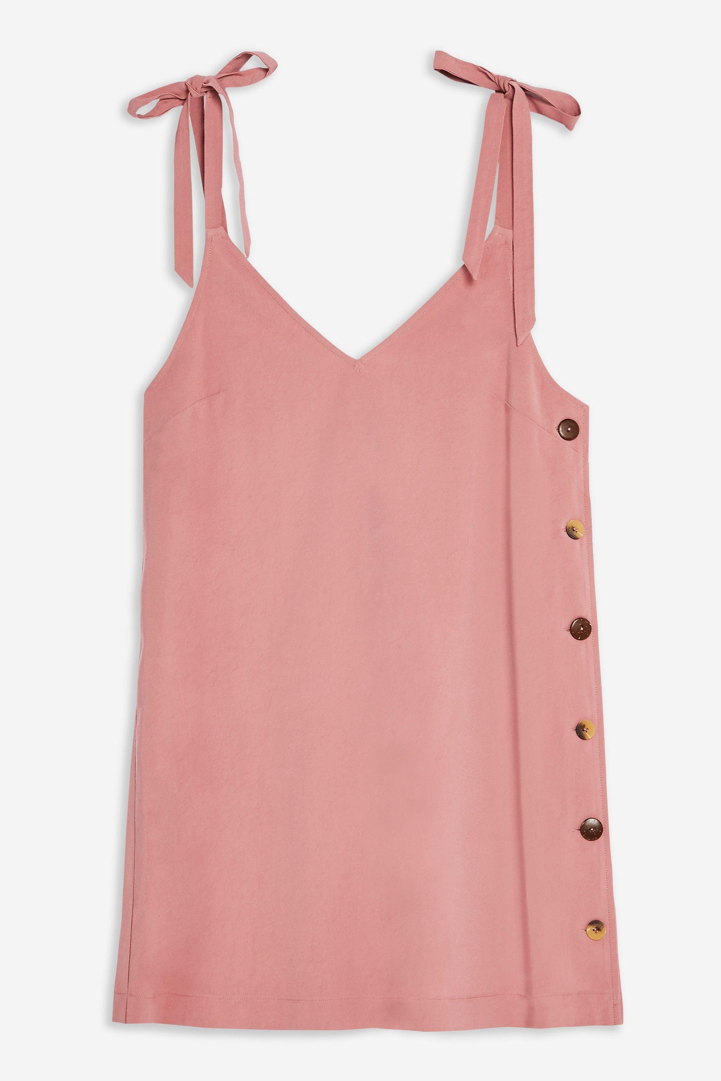 Button Mini Slip Dress | Topshop