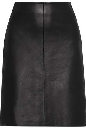Sofie Leather Skirt
