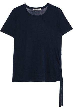 Cotton By Ruched Slub Cotton-jersey T-shirt