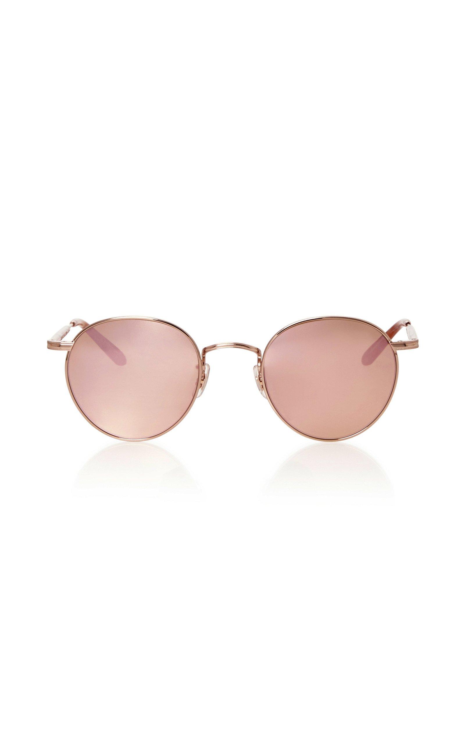 Garrett Leight Wilson M Round-Frame Sunglasses