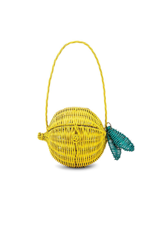 Limone Straw Bag