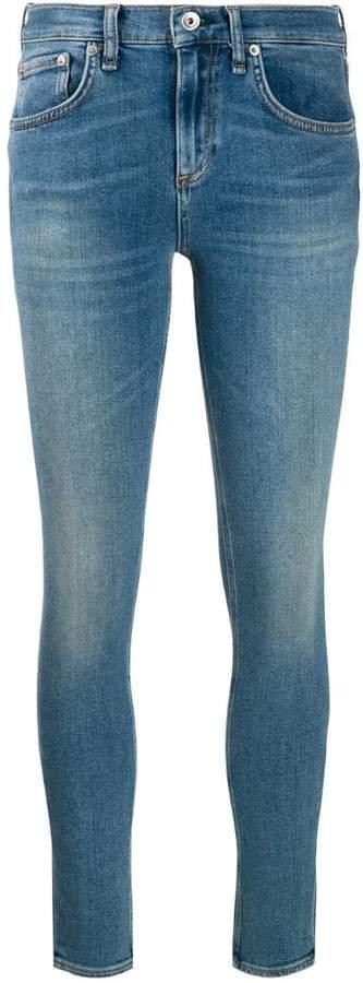 Jean mid-rise skinny jeans