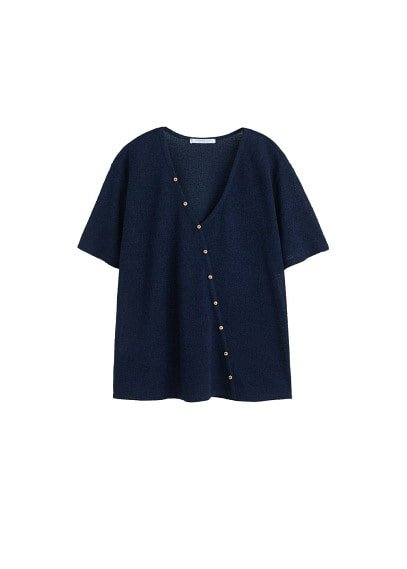 Violeta BY MANGO Buttons t-shirt