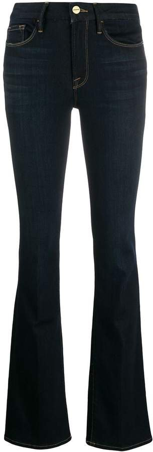 Mini Boot mid-rise bootcut jeans