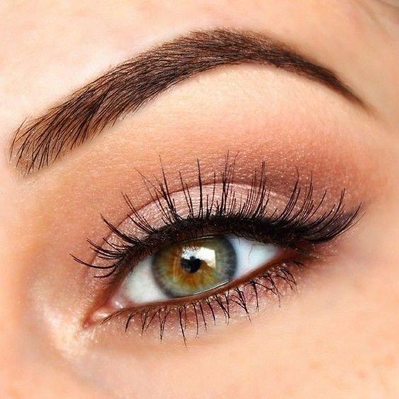 PINTEREST - Soft eye makeup