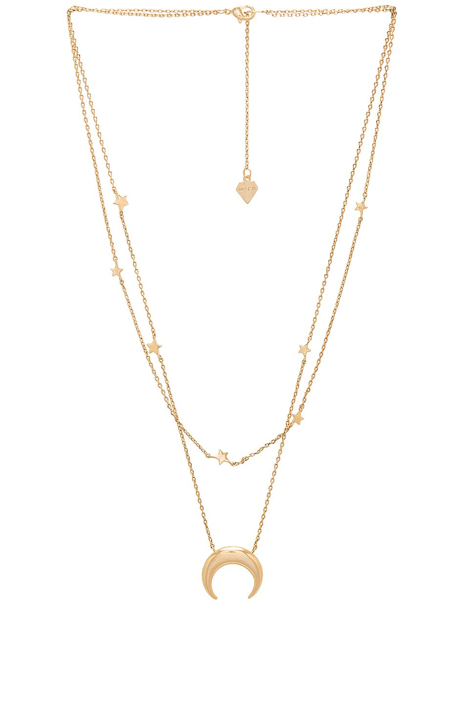 Crescent & Constellation Necklace