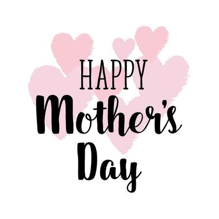 Happy Mothers's Day Greeting Card. Vector Hand Lettering Quote.. Royalty Free Cliparts, Vectors, And Stock Illustration. Image 58325956.
