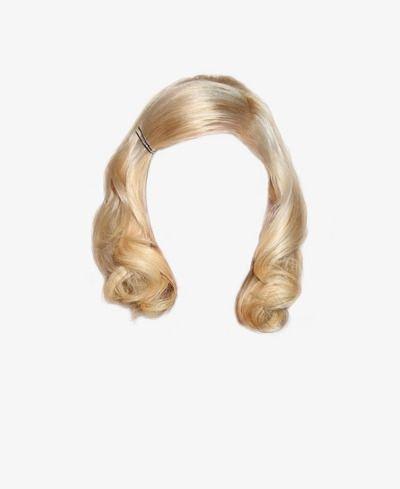 vintage blond hair