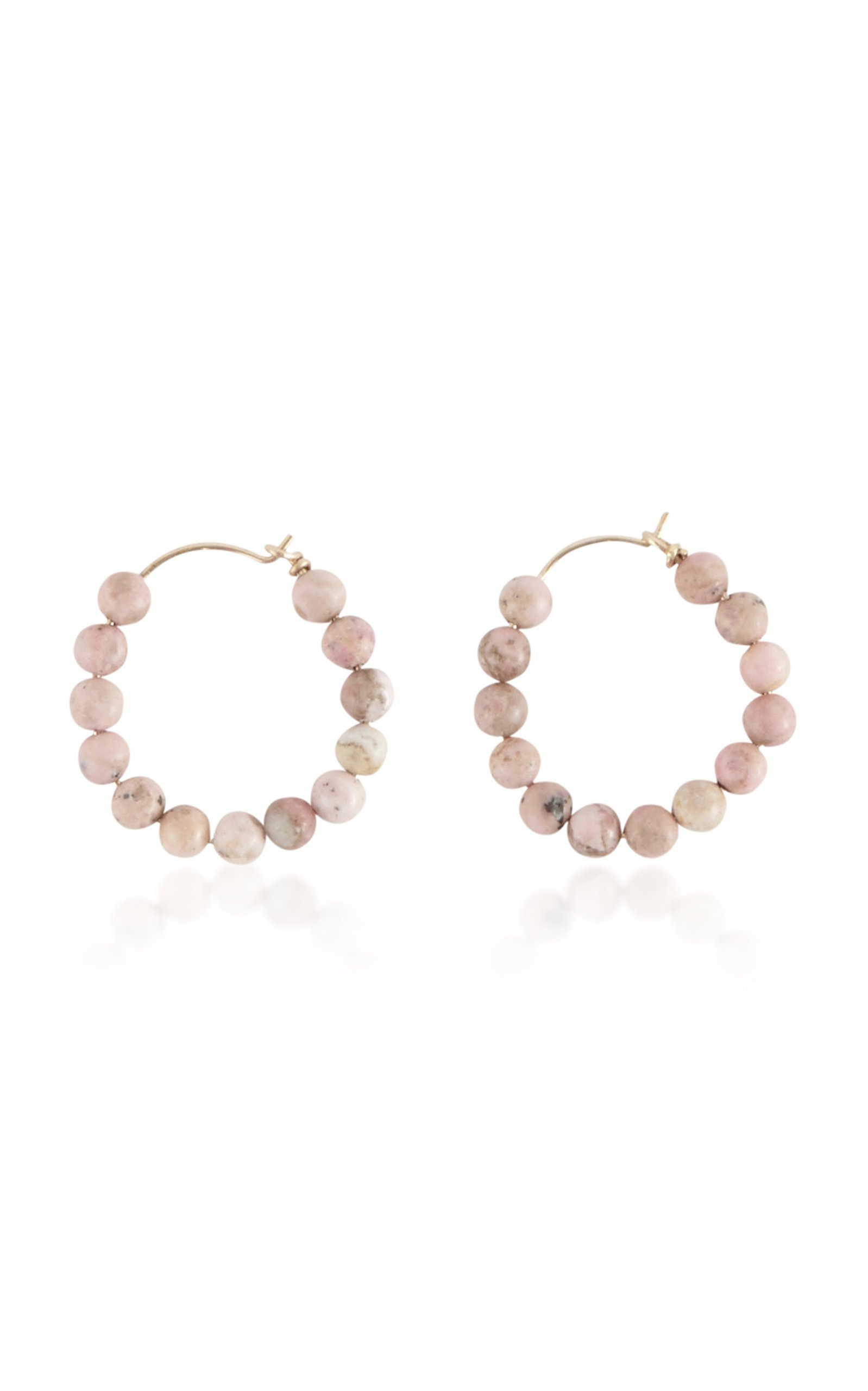 Holly Ryan Pink Agate Hoops