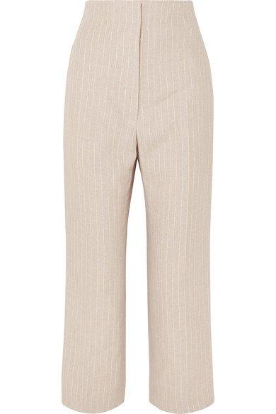 Racil | Arthur pinstriped linen straight-leg pants | NET-A-PORTER.COM
