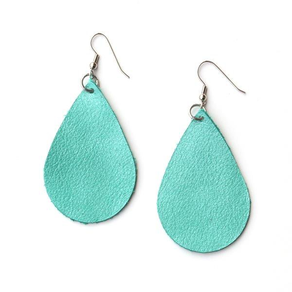 teal earrings - Google Search
