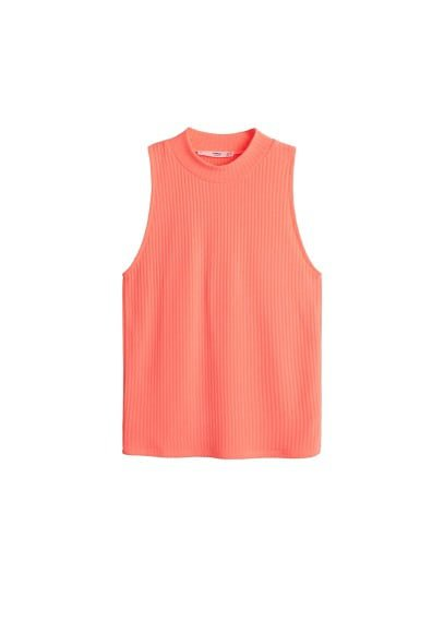 MANGO Halter neck top