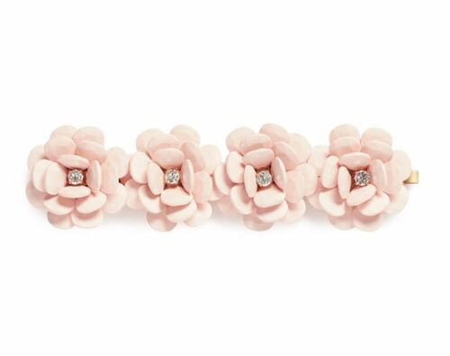 $78 NWT J CREW Pale Pink Rose Bracelet EXQUISITE STATEMENT PIECE Spring Wedding | eBay