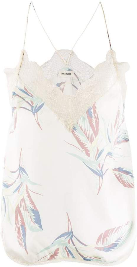 Zadig&Voltaire Christy Paradise cami top