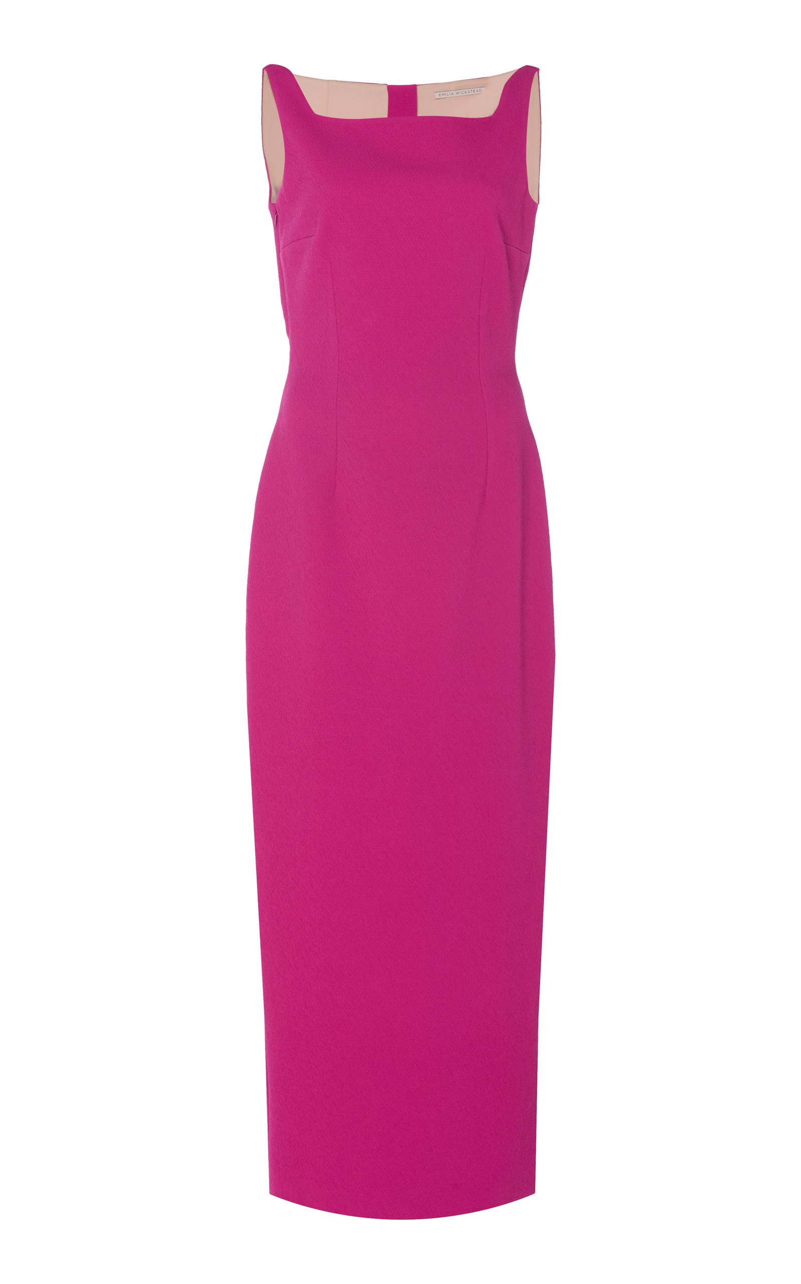 Emilia Wickstead Cleo Sleeveless Cady Midi Dress