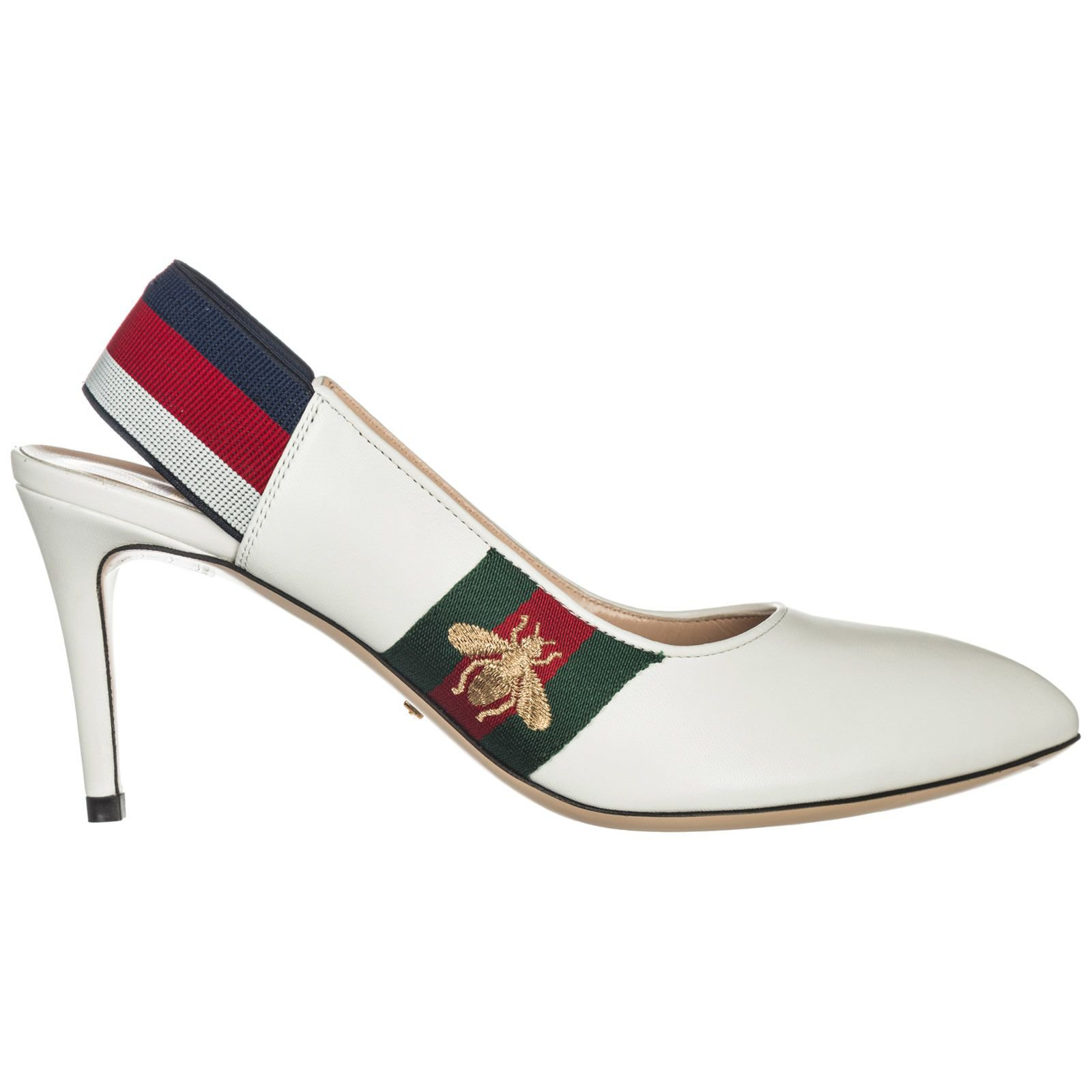 Gucci Leather Pumps Court Shoes High Heel