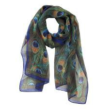 peacock scarf - Google Search
