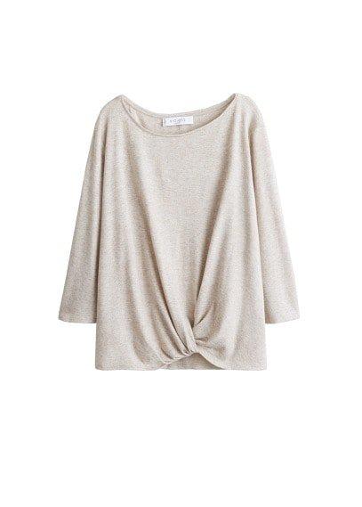 Violeta BY MANGO Knot detail sweater
