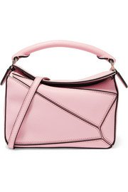 Loewe | Puzzle small woven leather shoulder bag | NET-A-PORTER.COM