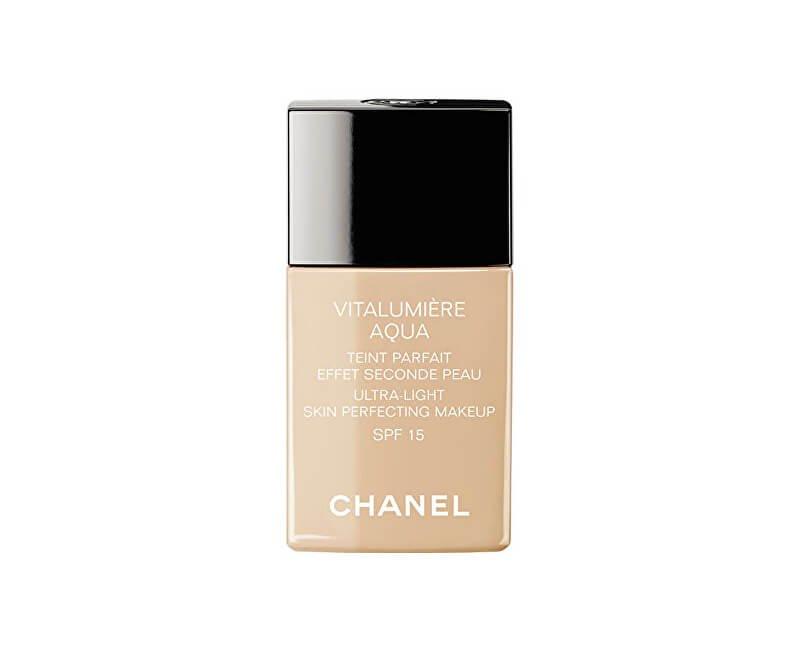 Chanel Rozjasňující hydratační make-up Vitalumiere Aqua SPF 15 (Ultra-Light Skin Perfecting Sunscreen Makeup) 30 ml | Krasa.cz