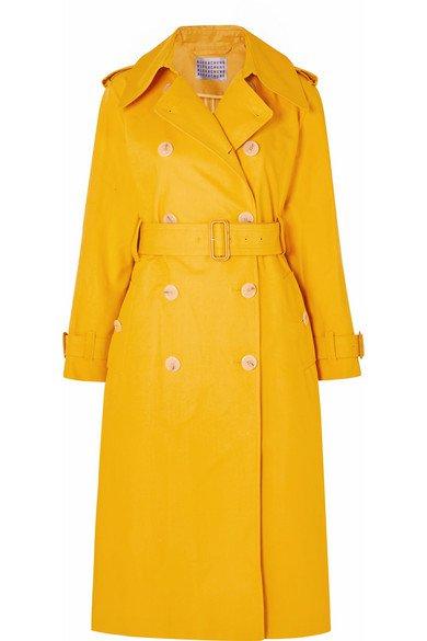 ALEXACHUNG | Cotton-gabardine trench coat | NET-A-PORTER.COM