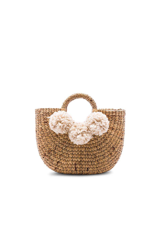 Small Sabai 3 Pom Basket