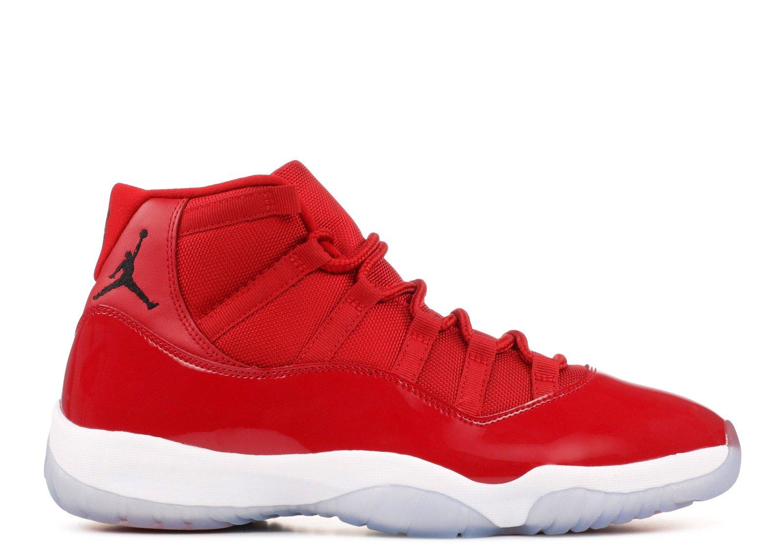 "Air Jordan 11 Retro ""Win Like '96"" - Air Jordan - 378037 623 - gym red/black-white | Flight Club"