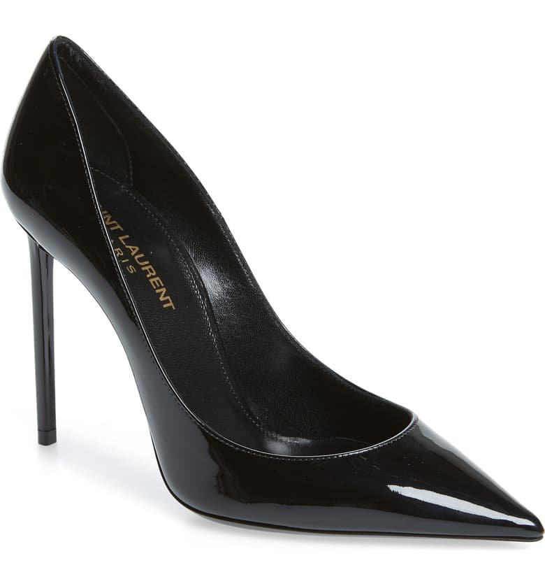 Saint Laurent Zoe Pointy Toe Pump (Women) | Nordstrom