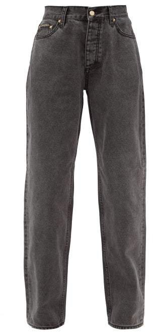Benz Straight Leg Jeans - Womens - Black