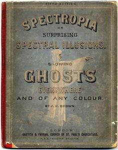 203 meilleures images du tableau books   Old books, Pulp Fiction ... Pinterest Spectropia book of ghosts - 1866