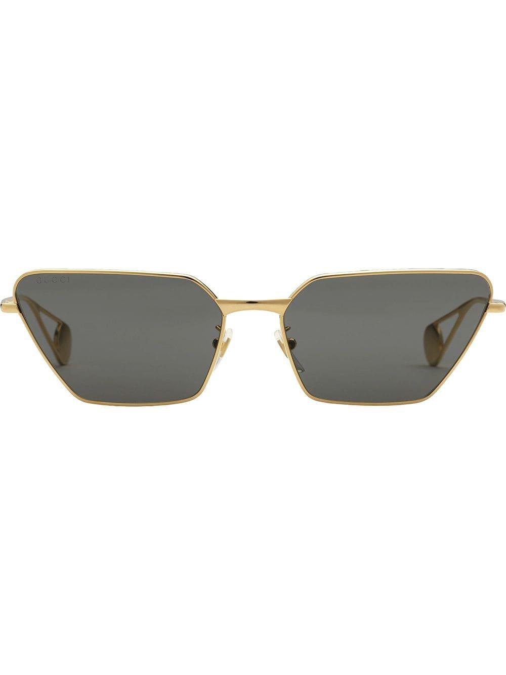 Gucci Eyewear Rectangular Sunglasses - Farfetch