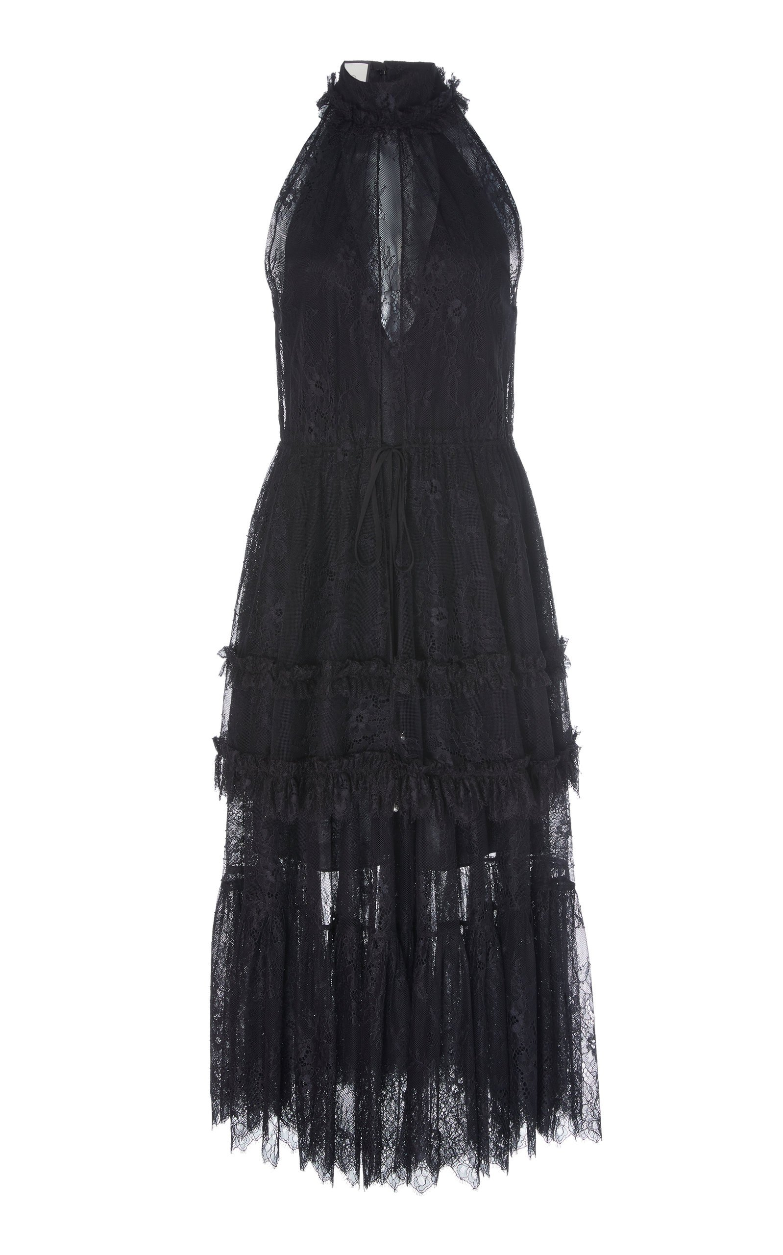 Magdalina Tiered Lace Dress by Alexis | Moda Operandi