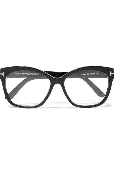 TOM FORD | Square-frame acetate optical glasses | NET-A-PORTER.COM