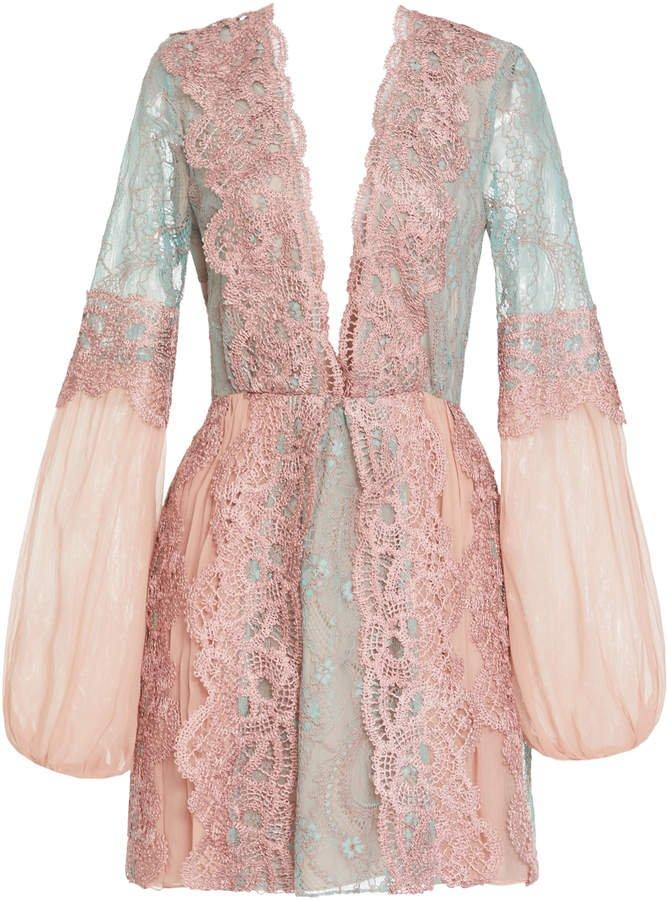 Alexis Adrianna Lace Dress Size: XS