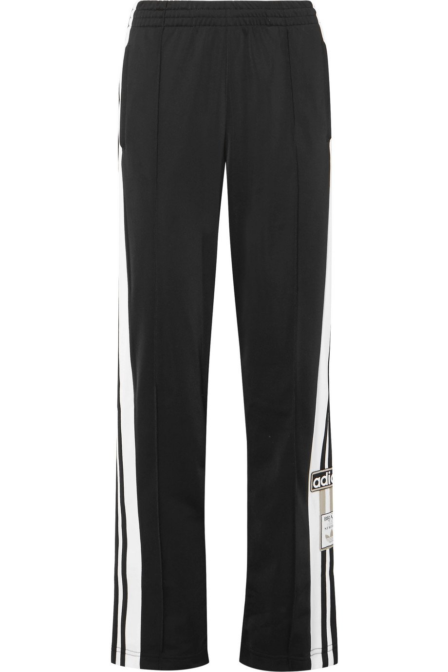 adidas Originals | Striped satin-jersey track pants | NET-A-PORTER.COM