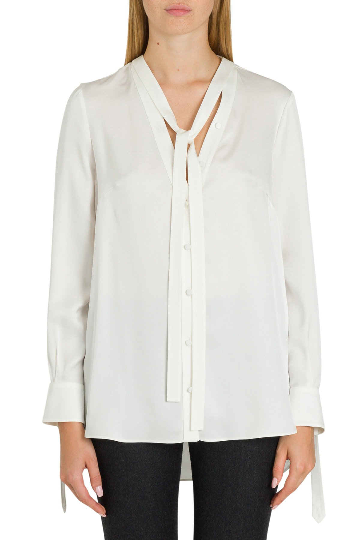 Alexander McQueen Pussy-bow Blouse